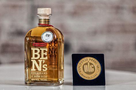 Ben's Kornbrand DLG Gold 2017 Schmittmann