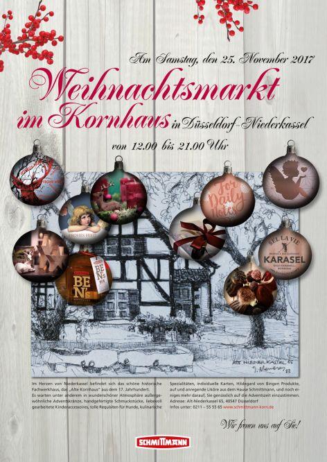 Adventsmarkt 2017 bei Schmittmann in Niederkassel
