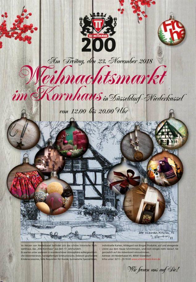 Weihnachtsmarkt 2018 bei Schmittmann