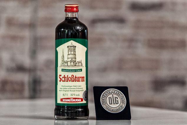 Schlossturm Edel-Kräuter-Likör DLG Silber 2017 Schmittmann