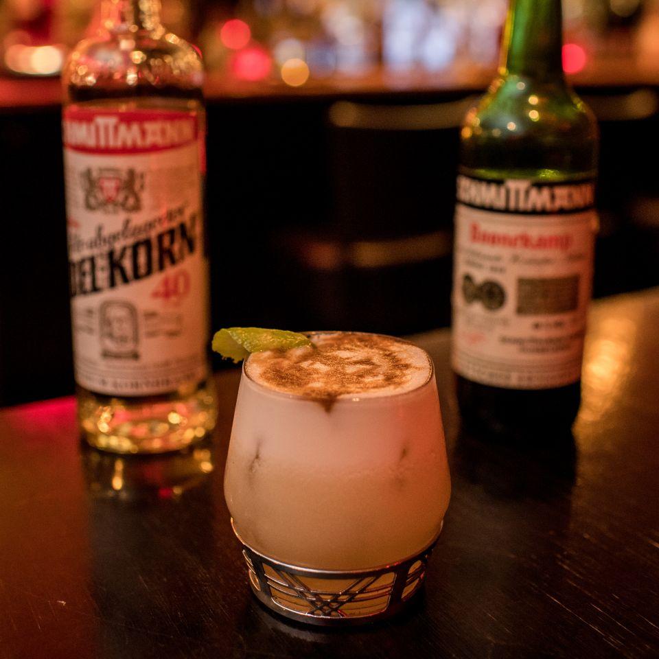 Schmittmann Samtkragen Sour Cocktail